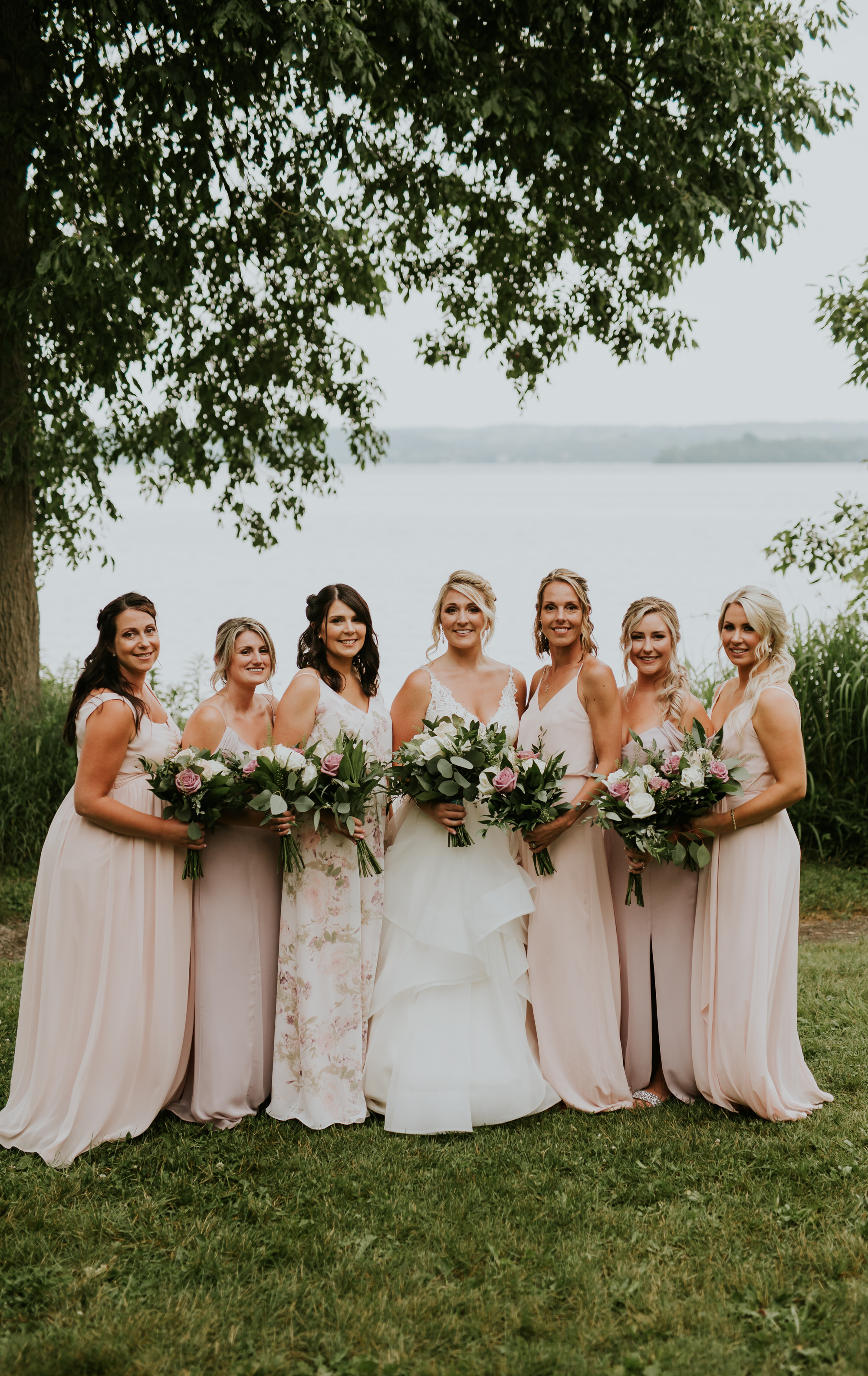 Elmhirst Resort Wedding - Bridal party portrait