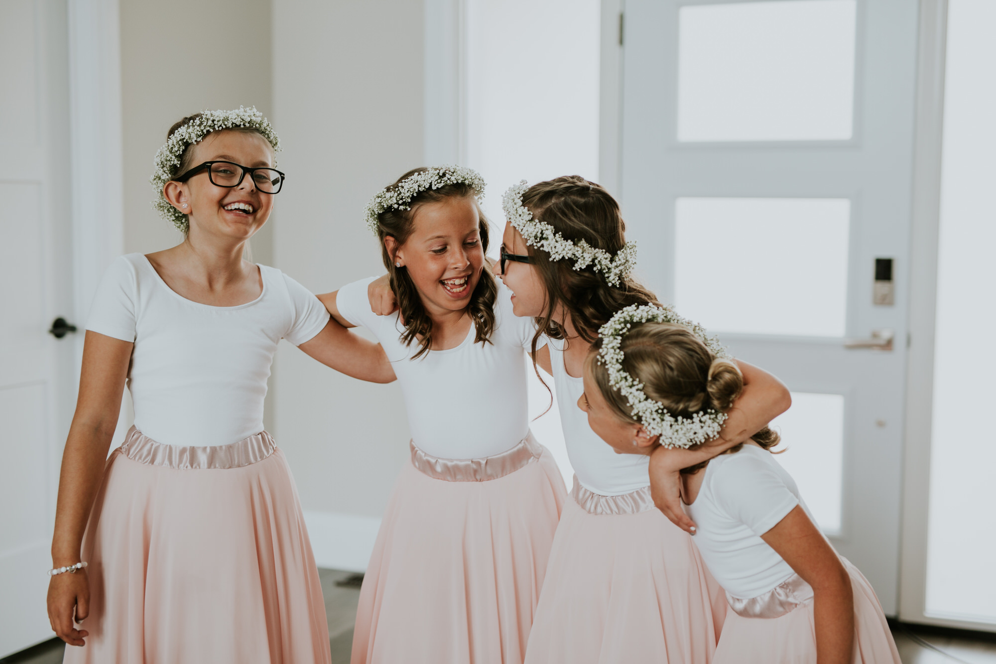 Elmhirst Resort Wedding - flower girls