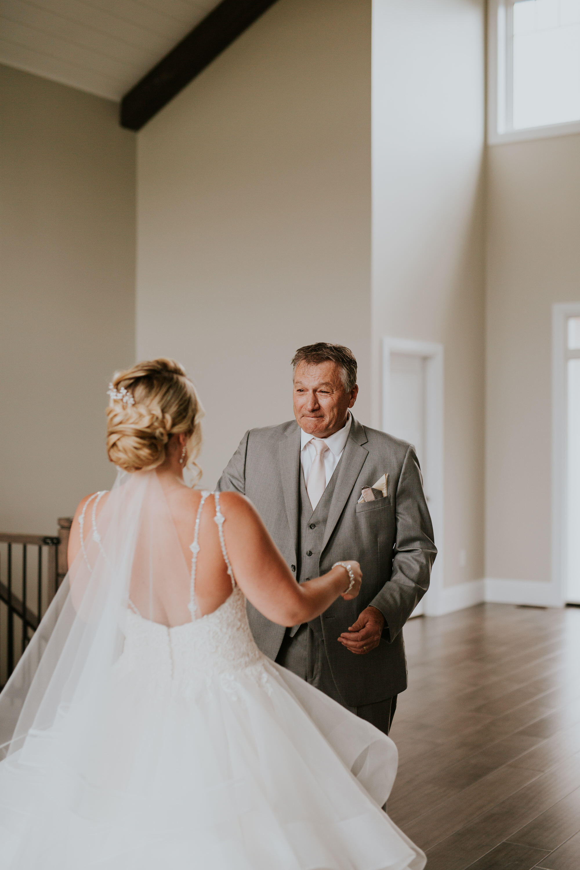Elmhirst Resort Wedding - father daughter first look