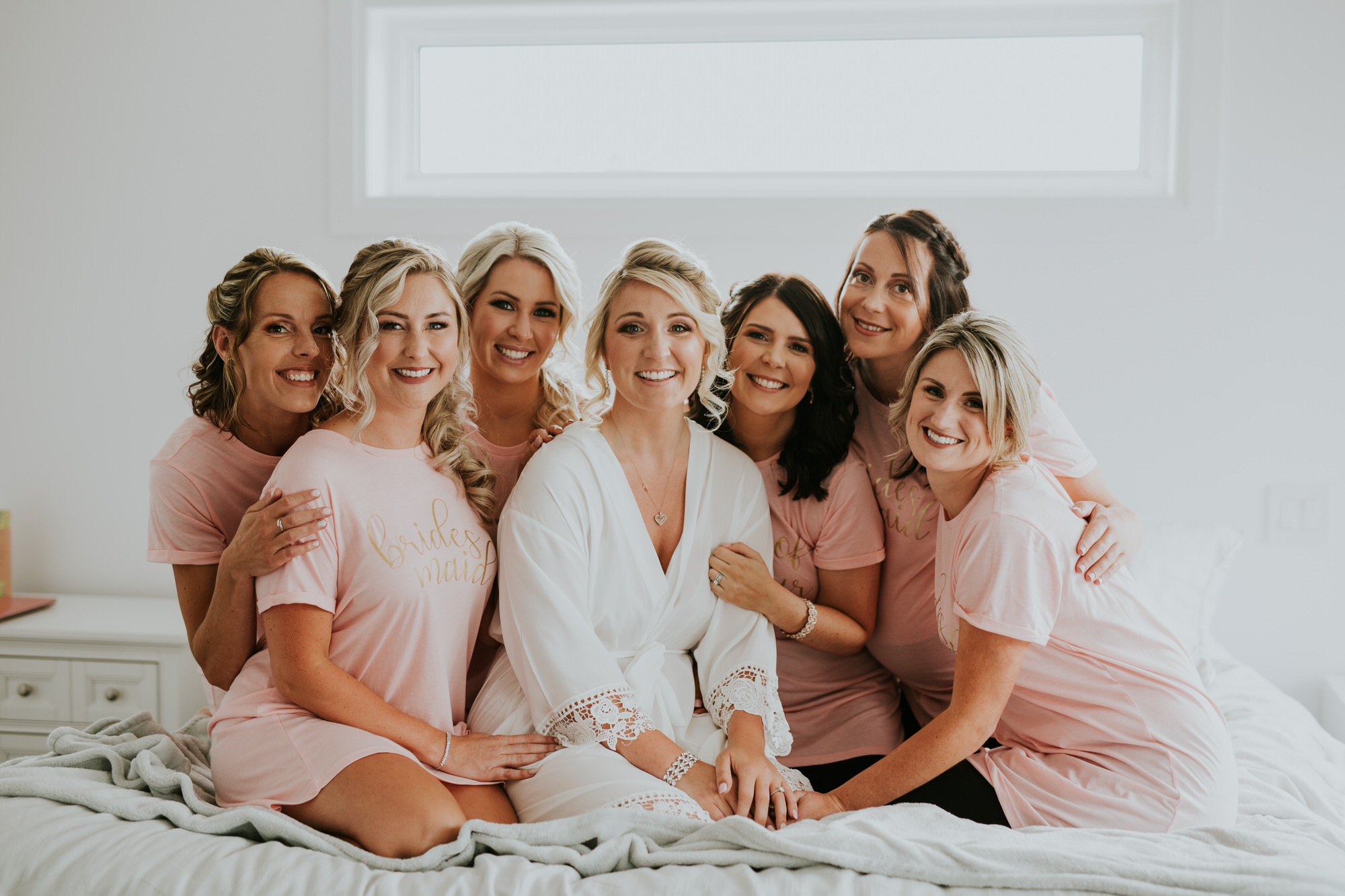 Elmhirst Resort Wedding - Bridal party morning portrait