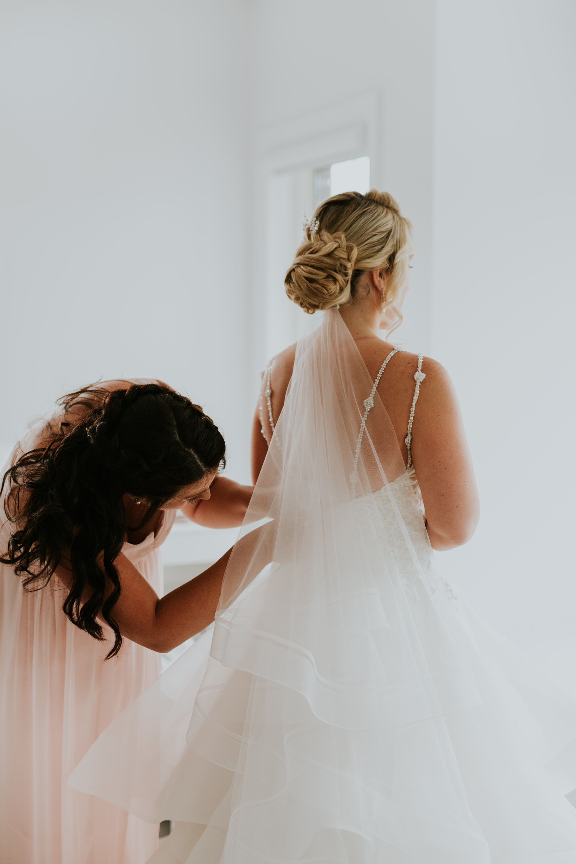 Elmhirst Resort Wedding - Bride prep