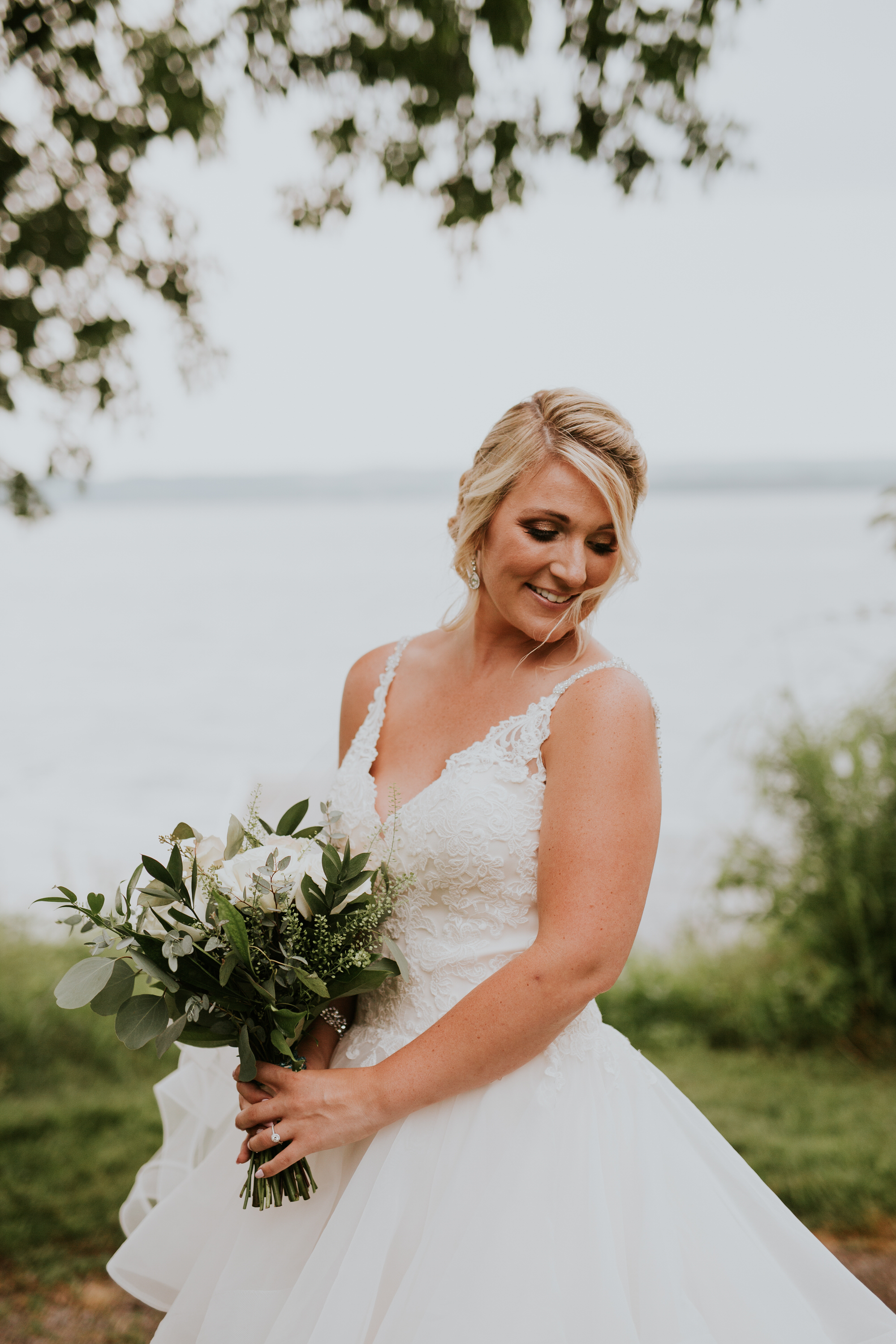 Elmhirst Resort Wedding - portrait of the bride