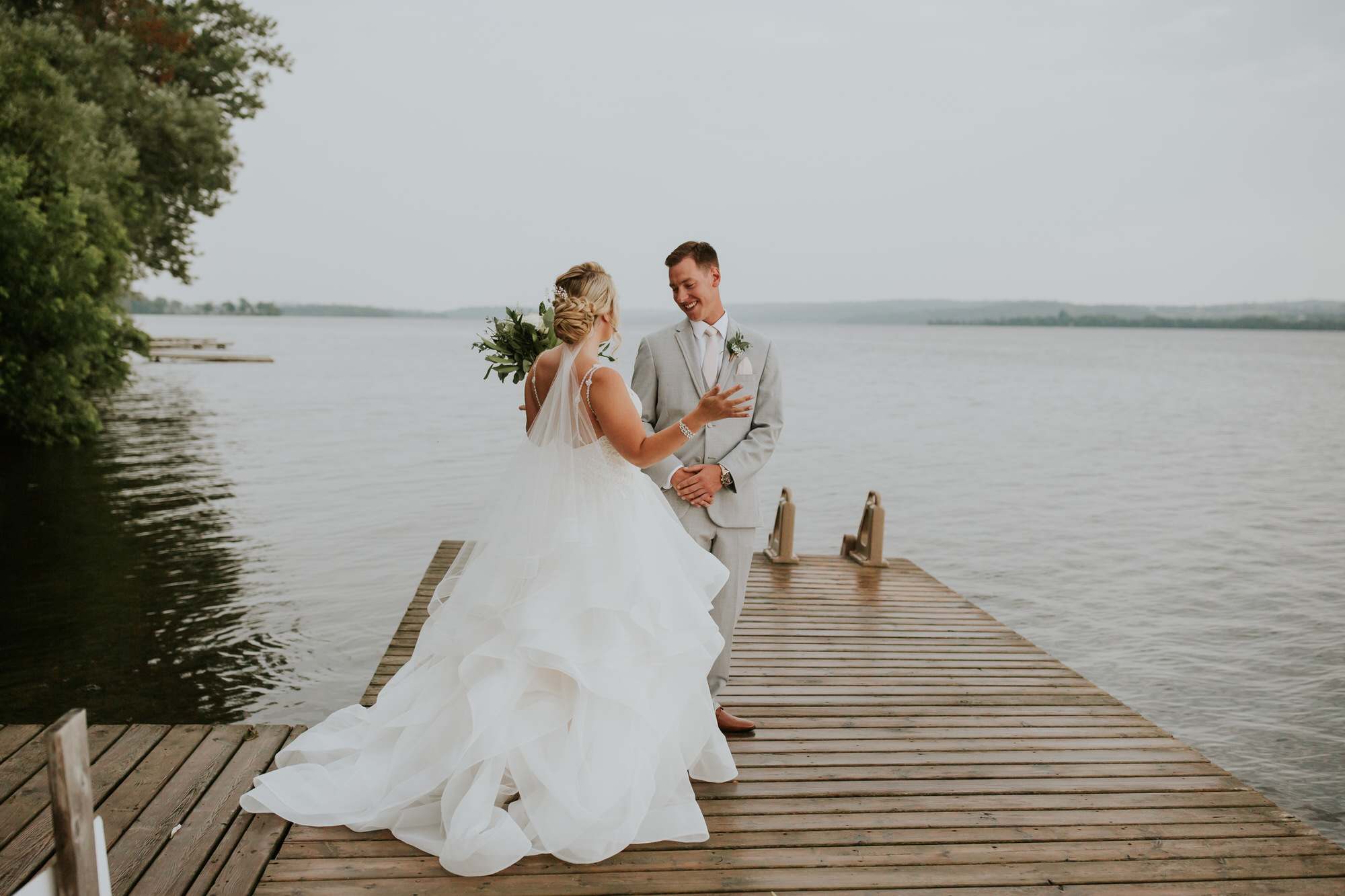 Elmhirst Resort Wedding - first look