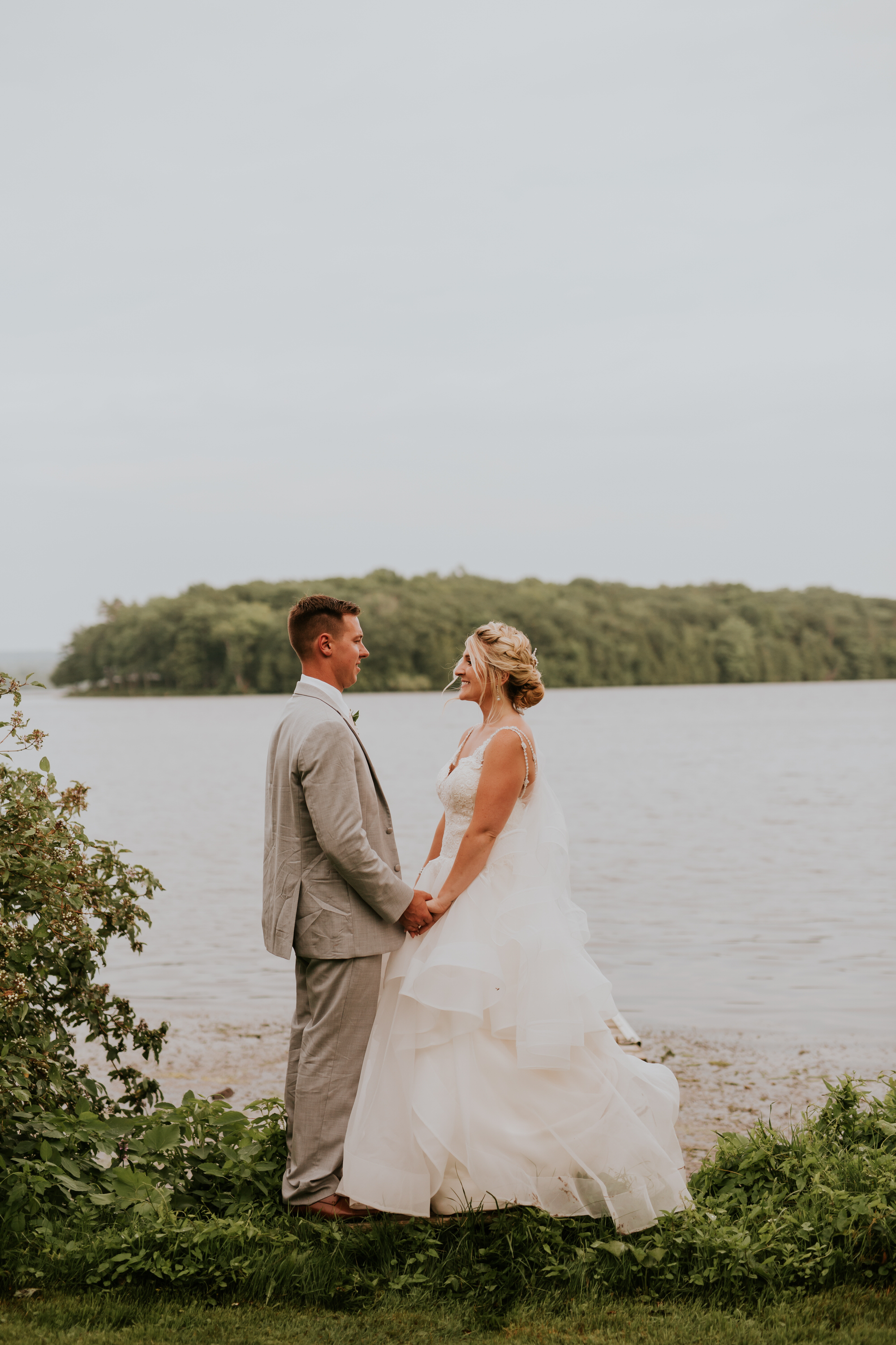 Elmhirst Resort Wedding - lakeside portraits