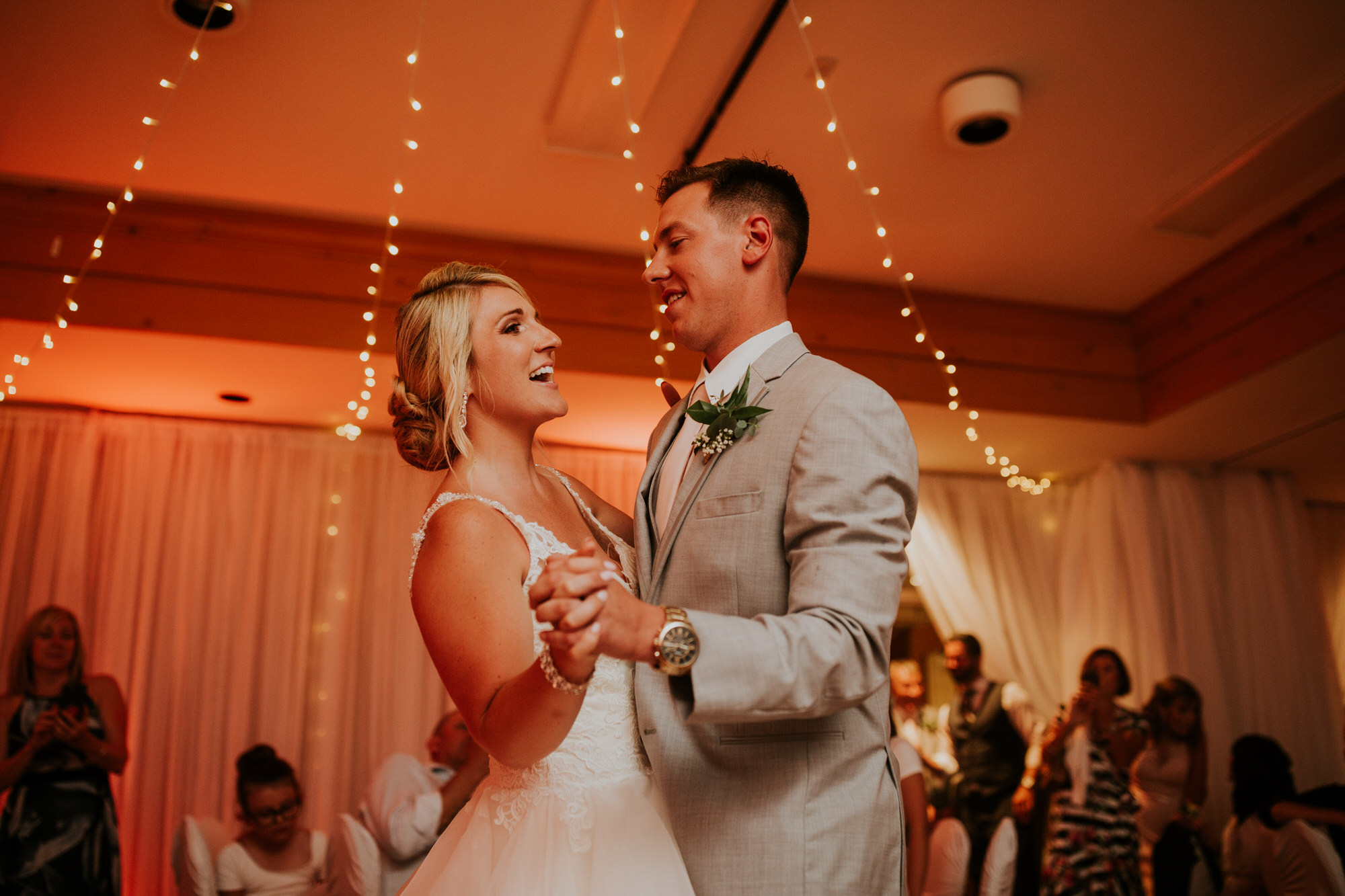 Elmhirst Resort Wedding - first dance