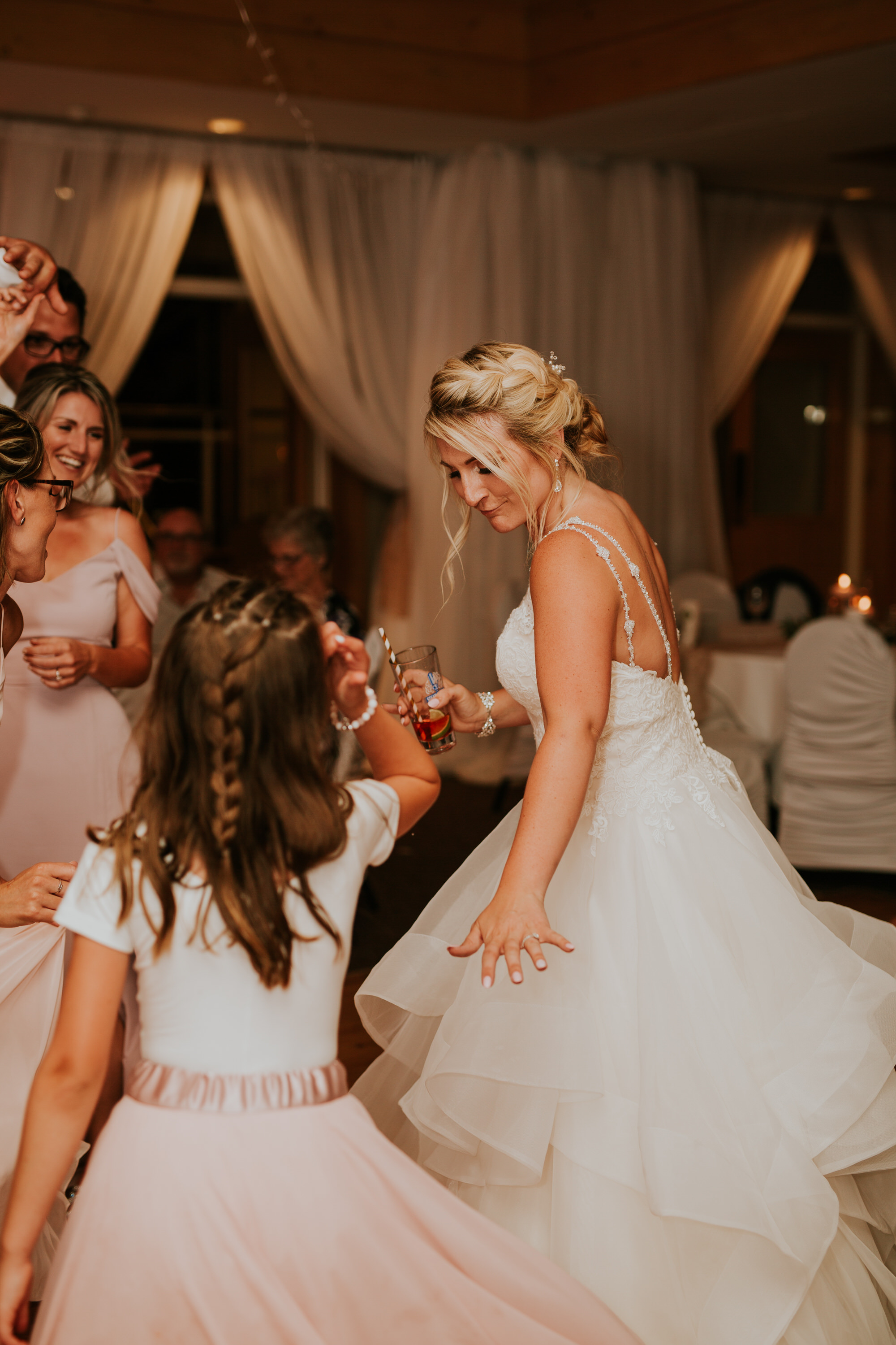 Elmhirst Resort Wedding - bride dancing